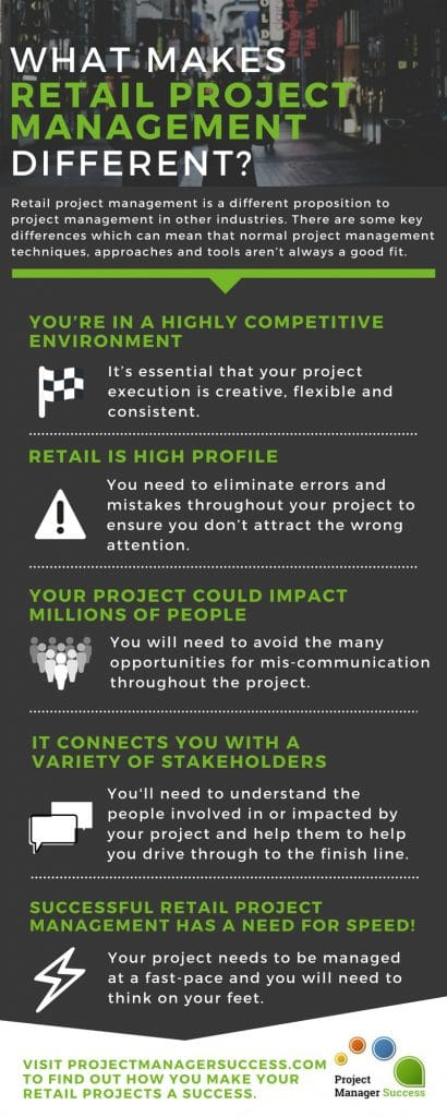 What makes Retail Project Management Different