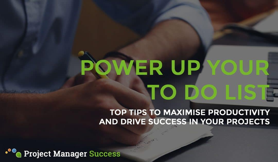 5 To Do List Tips to Power Up Your Productivity