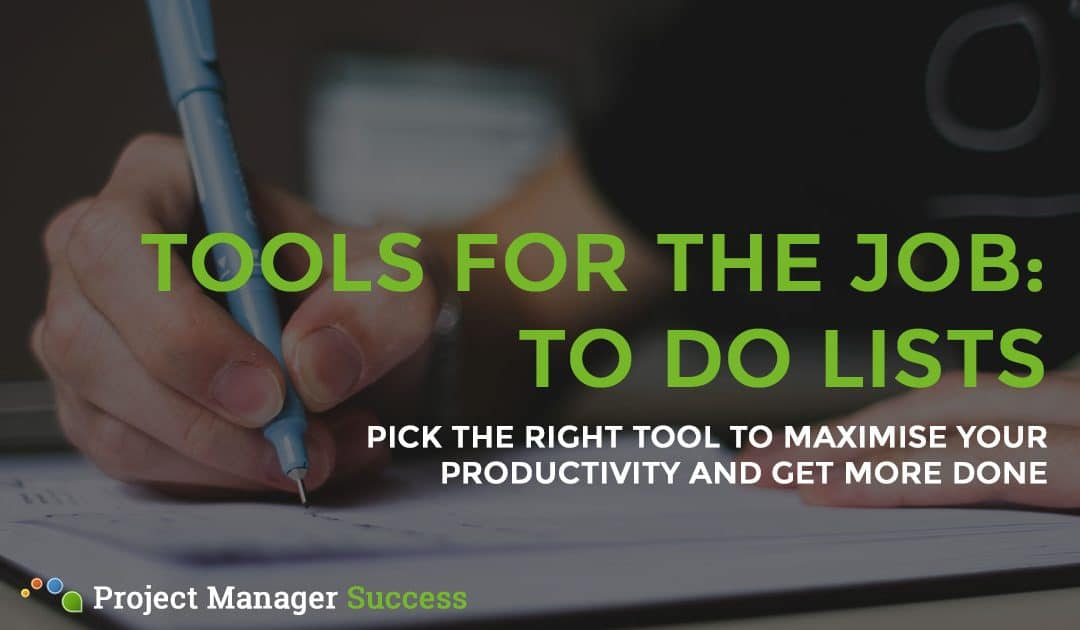 To Do List Tools – Which One is Right for You?