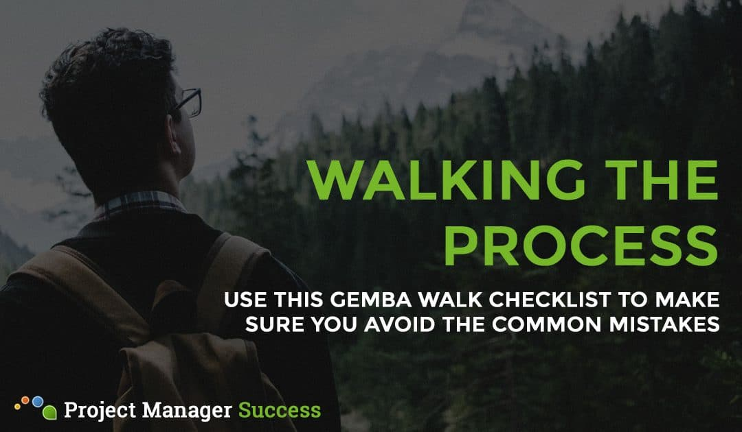 Gemba Walk Checklist: Walk the Process Effectively